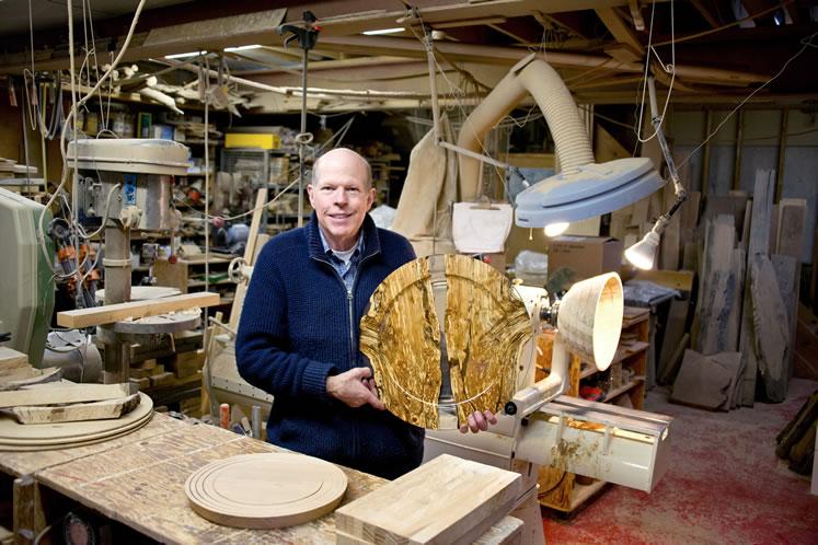 Jim Lorriman... call him a craftsman. Photo by Pete Paterson.
