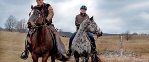 "It was a blustery day when Carl ""Crusty"" Cosack took writer Nicola Ross for a ride across the high hills of Peace Valley Ranch. Photo by Rosemary Hasner / Black Dog Creative Arts."