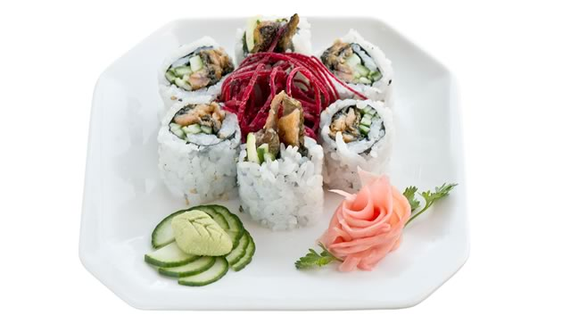 Maki rolls at Inaka Sushi. Photo by Pete Paterson.