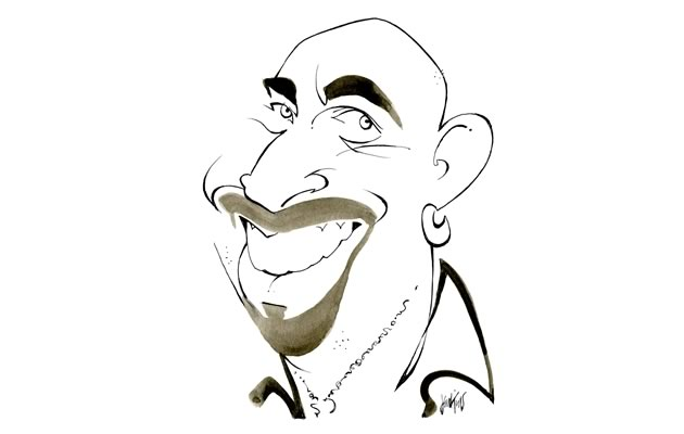 "Nando Mellaci Restaurateur, The Orange Bistro, Orangeville ""Million dollar smile now that he's left airport work for the dream of his own restaurant."""