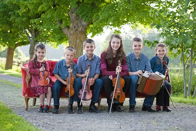 The Next Generation Leahy headlines the Heritage Music Festival on August 4. Courtesy Leahy Family.