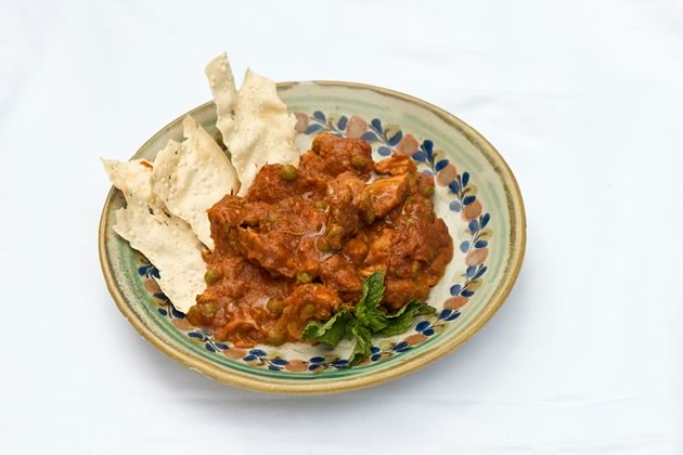 Rosemont General Store's Butter Chicken. Photo by Pete Paterson.