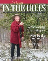 2016 cover of In the Hills magazine