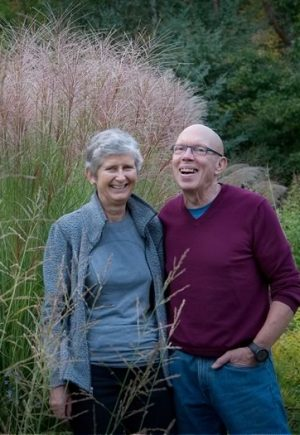 Liz and George Knowles have lived and gardened in Mono since 1976. Photo by Rosemary Hasner / Black Dog Creative Arts.
