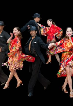 Joie de vivre: National dance competitors and Caledon Dance Center instructors David Valenzuela and Corina Pirvuica. Photos © Ray Vella.