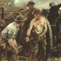 """The Taking of Vimy Ridge, Easter Monday 1917"" by Richard Jack"