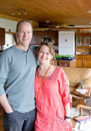 For Mary and Brad Kruger, living lightly doesn't mean sacrificing comfort for conscience. Photo by Pete Paterson.
