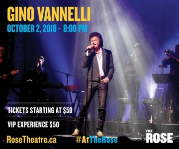 Gino Vannelli at The Rose Theatre