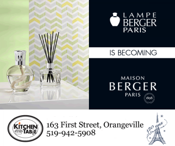 Maison Berger Paris in Orangeville