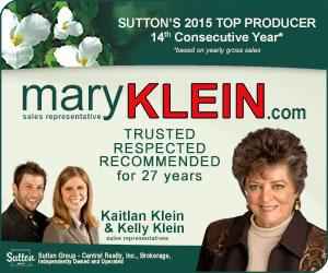 Mary Klein - Selling Caledon, Brampton, Orangeville, Mono, Erin & Surrounding Areas