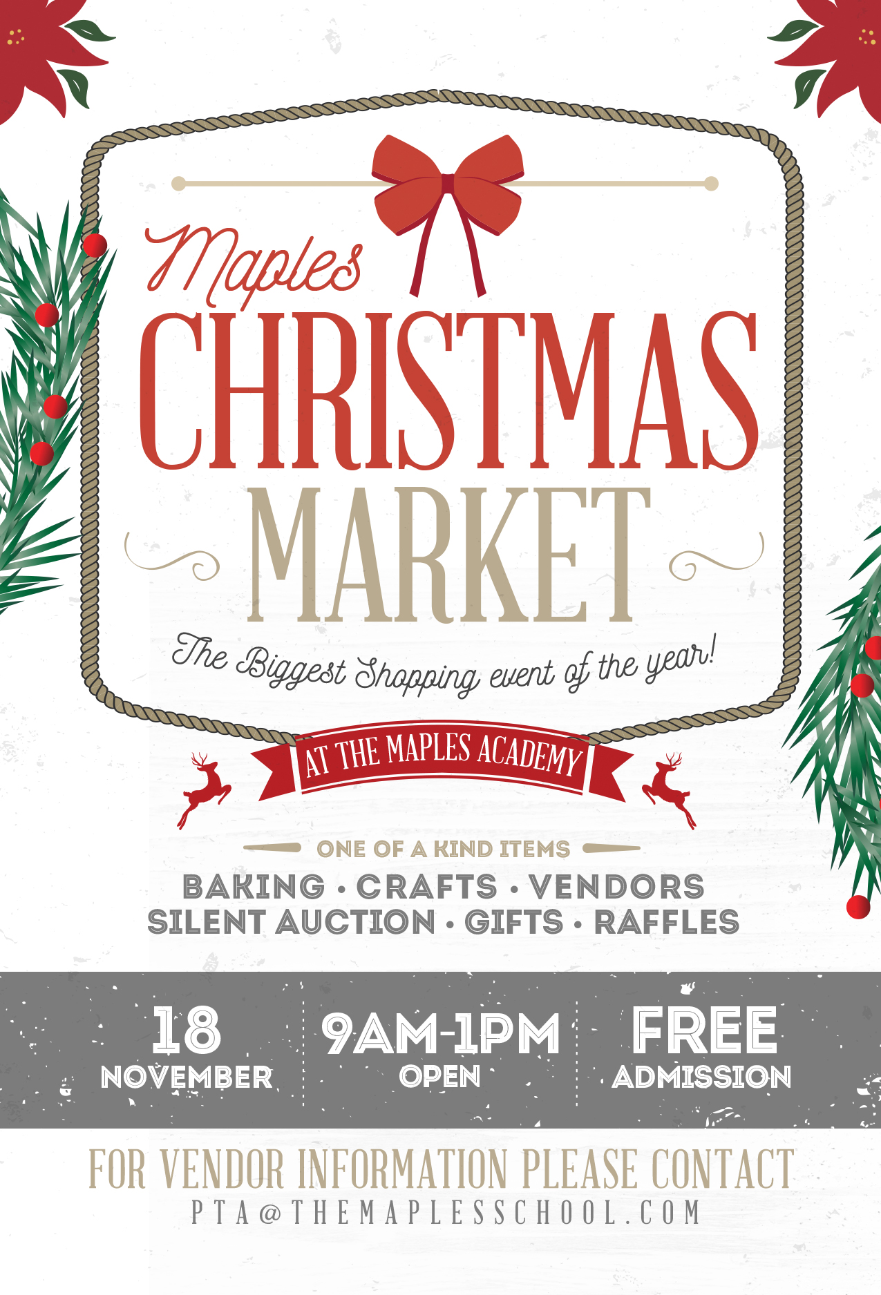 Maples Christmas Market In The Hills