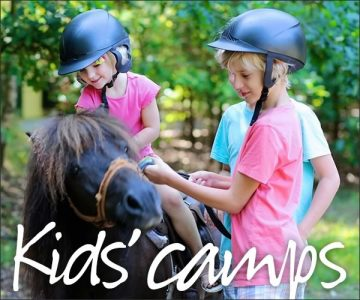 Kids Camps Riding Lessons