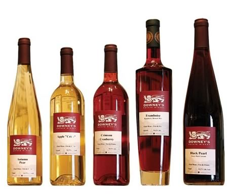 Downey fruit wines