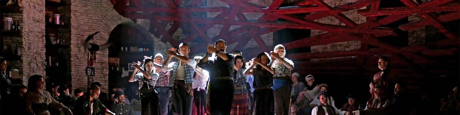 A scene from the Metropolitan Opera's production of Carmen. Photo courtesy Metropolitan Opera.