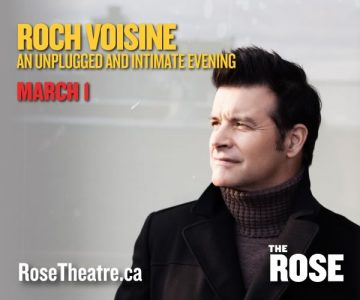 Roch Voisine at the Rose Theatre