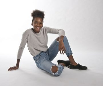 Screen Standout: Shailyn Pierre-Dixon, 15, Caledon. Photo by Pete Paterson.