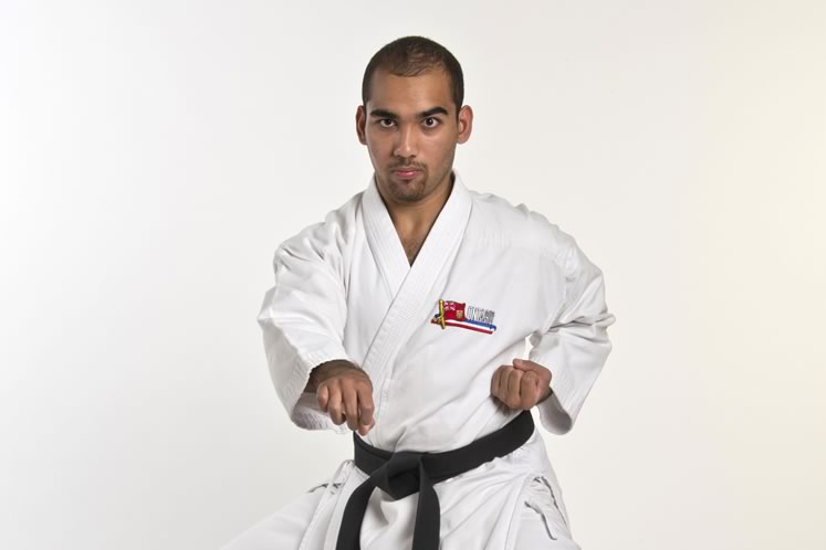 Karate Kid: Daniel Mustapha, 18, Amaranth. Photo by Pete Paterson.