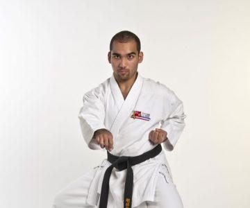 Karate Kid: Daniel Mustapha, 18, Amaranth. Photo by Pete Paterson.