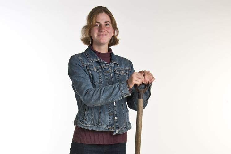 Organic Grower: Jordan Tilley, 24, Hillsburgh. Photo by Pete Paterson.
