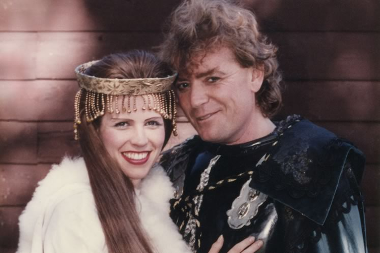 """Fittingly, love bloomed in Camelot when Leisa played Guinevere and David Nairn played King Arthur. """"Lancelot didn't stand a chance,"""" says Leisa. Photo by Gloria Day."""