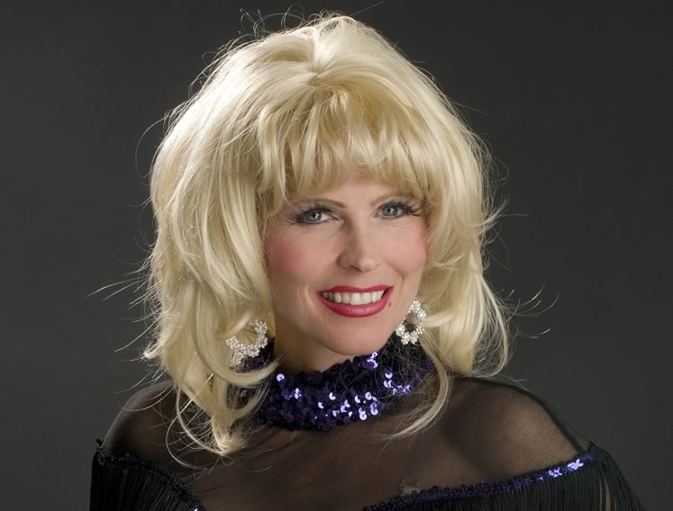 Leisa Way as Dolly Parton. Photo by Pete Paterson.