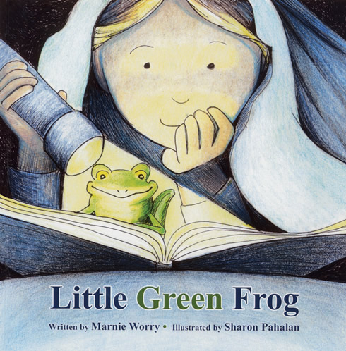 Little Green Frog by Marnie Worry 