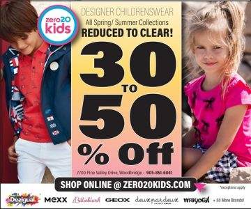 zero 20 Kids Clothing