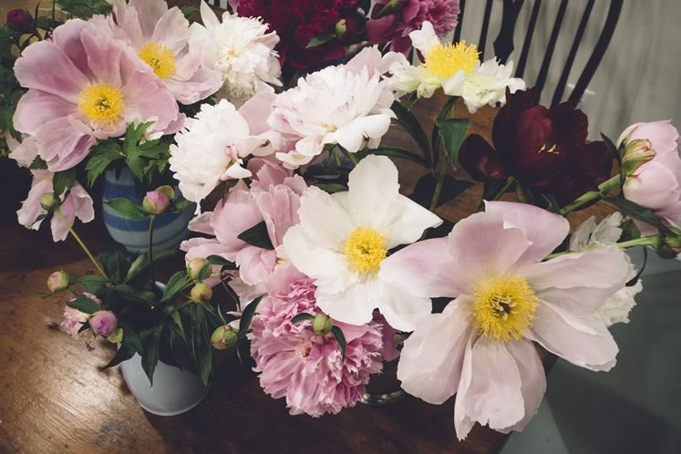 A charming bouquet showcases several luscious varieties. Photo by Tessa Angus.