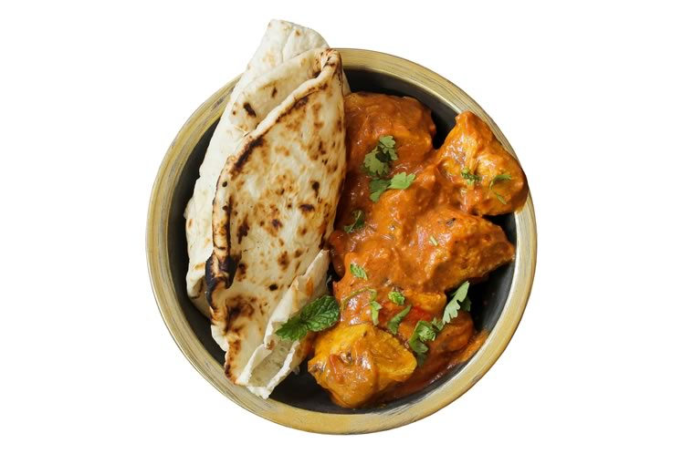 Oh so yummy butter chicken. Shutterstock 489193066.