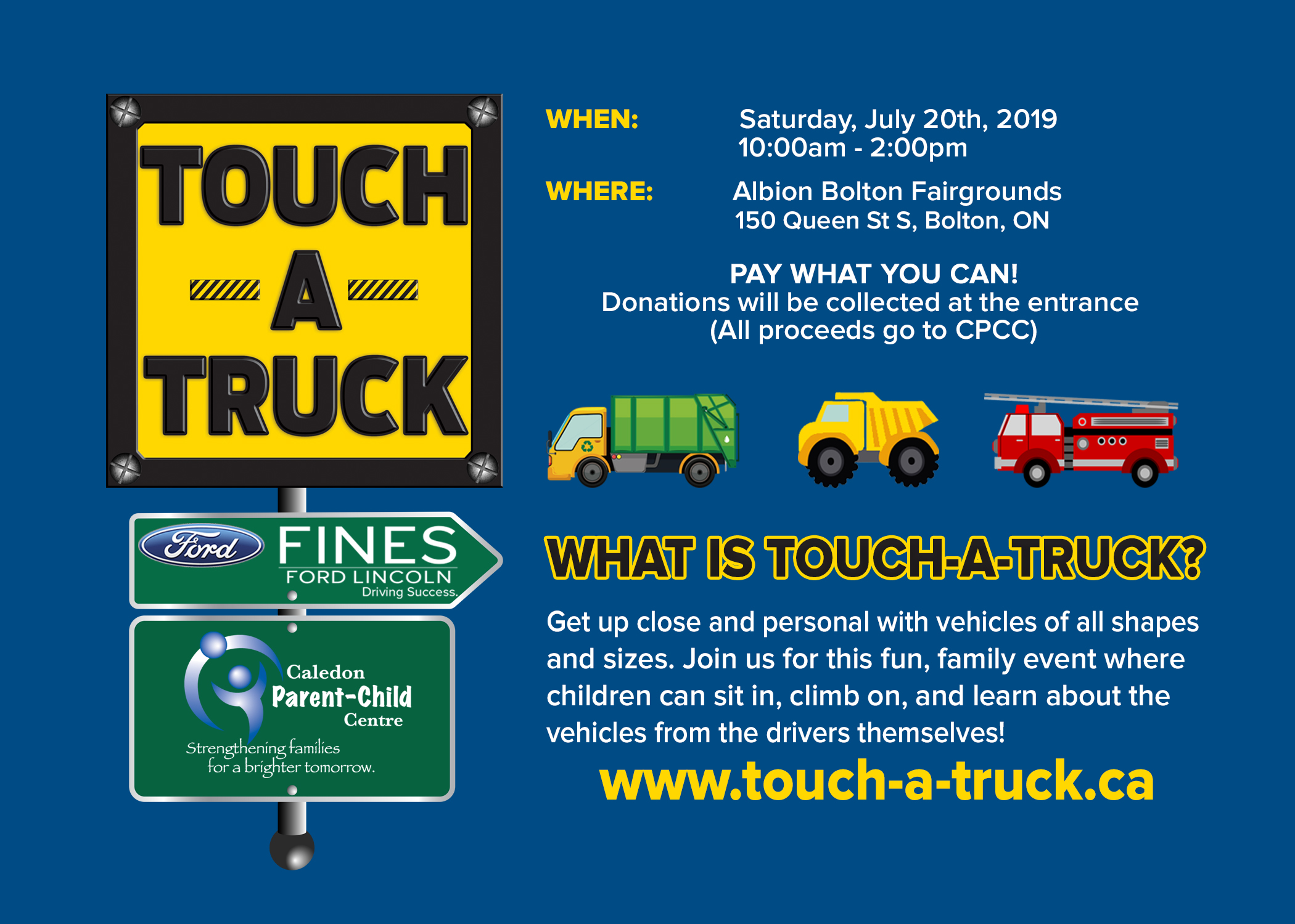 2948d71b2c2d9 Get up close and personal with vehicles of all shapes and sizes. Join us  for this fun