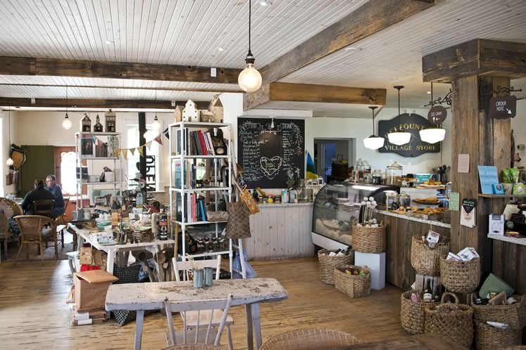 The Common Good Café and General Store, in the heart of Belfountain. Photo by Pete Paterson.