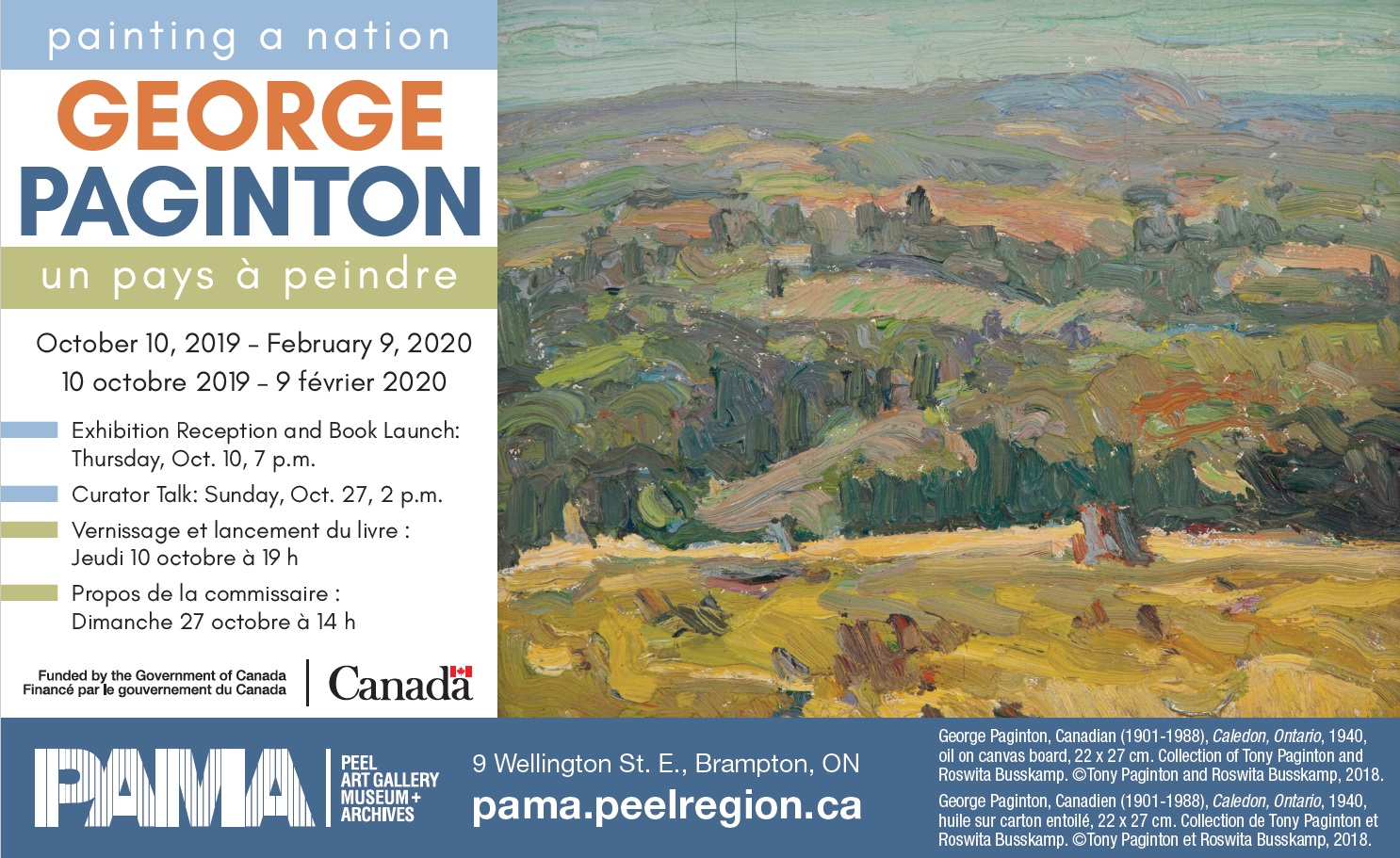 George Paginton: Painting a Nation Exhibition | In The Hills