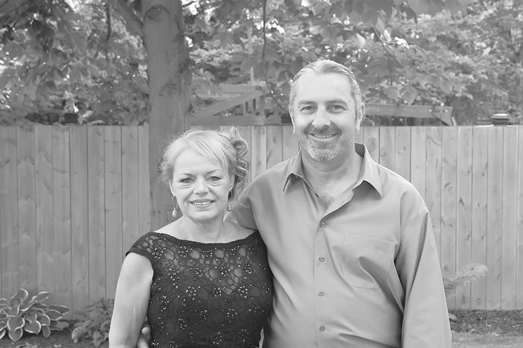 Cathy Timbers and her husband, Blair Marks, in 2016. This year, after a devastating cancer diagnosis, Blair chose medical assistance in dying. Courtesy Cathy Timbers.