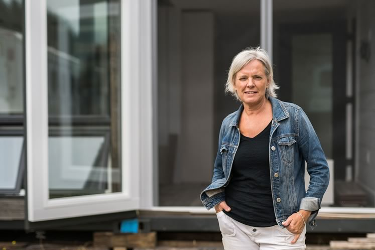 Kathy Ratchford of Caledon's Contained Living transforms shipping containers into functional, even glamorous homes. Photo by James MacDonald.