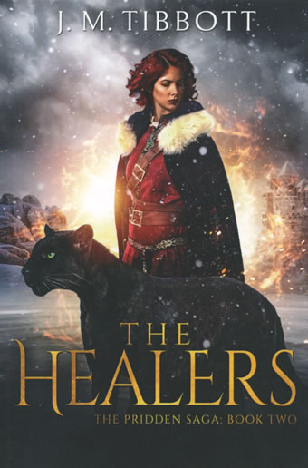 The Healers The Pridden Saga: Book Two by J.M. Tibbott