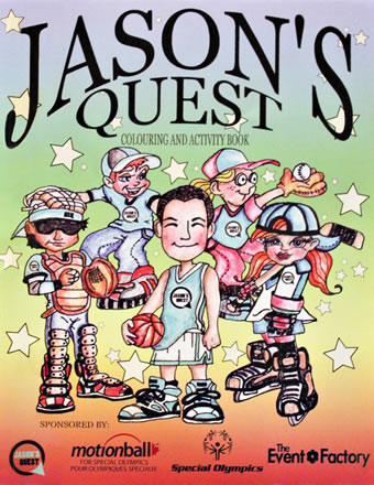 Jason's Quest Colouring and Activity Book