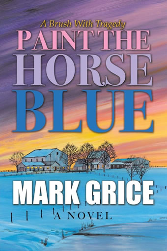 Paint the Horse Blue by Mark Grice