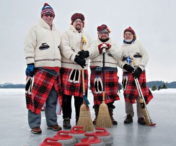 On our cover: The family Cook – Jason, Bryan, Collin and Jim – at the 2019 Great Canadian Pond Spiel on Island Lake. Photo by Rosemary Hasner / Black Dog Creative Arts.