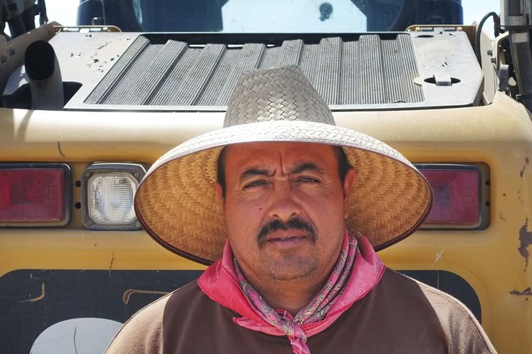 Pepe Lopez travels to Canada each summer from Mexico to work on a Mulmur farm. It feels different this year, he says.