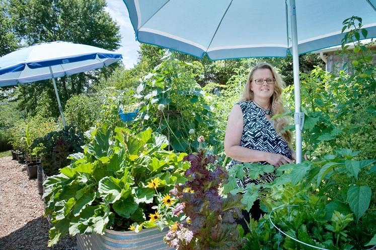 Preserving her garden's bounty is in Karen Hollingshead's DNA. Photo by Rosemary Hasner / Black Dog Creative Arts.