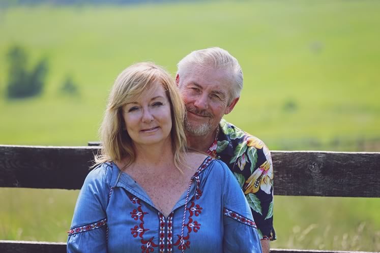 Brenda Bot and Tom Peters of Peaceful Valley Farm.