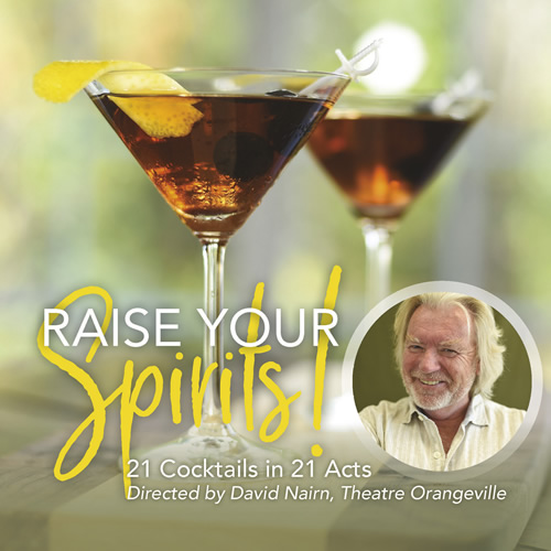Raise Your Spirits 21 Cocktails in 21 Acts