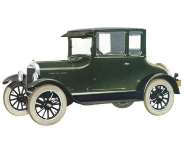 The Ford Model T Coupe was popular among country doctors for, among other reasons, an enclosed cabin that would protect them from the elements when making house calls.